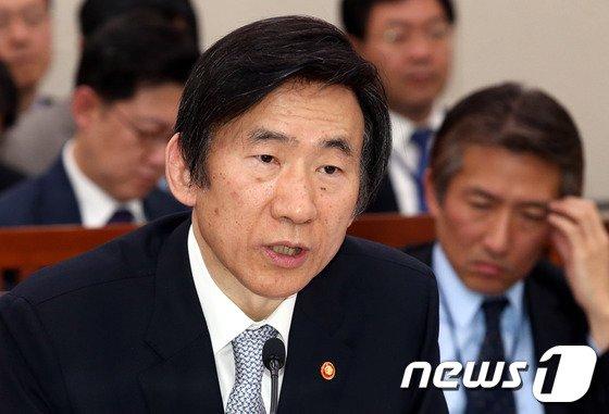윤병세 외교부장관. /뉴스1 © News1 이광호 기자