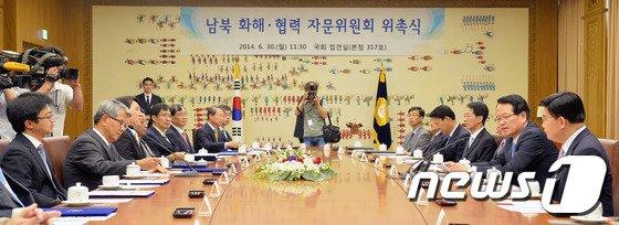 [사진]정의화 의장, 남북 화해·협력 자문위원회 위촉