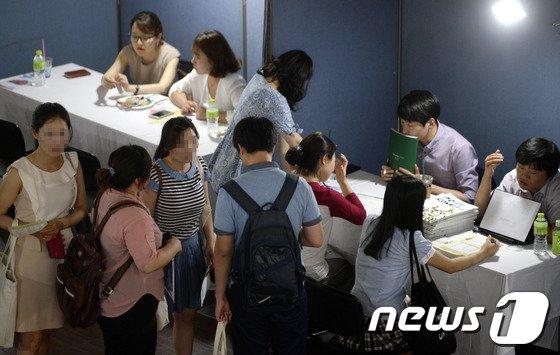 [사진]'탈북 청소년 대학입시 상담'