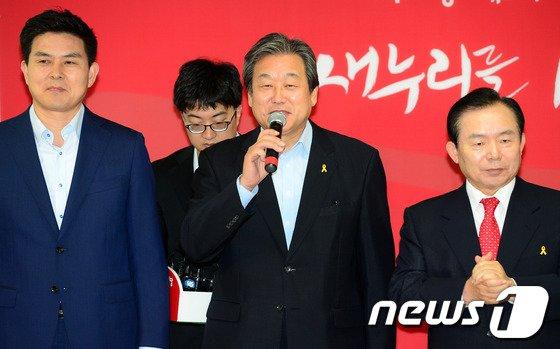 [사진]김무성, 공정경선 서약식 인사말