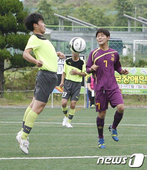 [사진]LIG 2014 전국장애인축구선수권대회