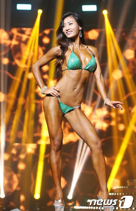 [사진]올스타 클래식 '근육 미스코리아'