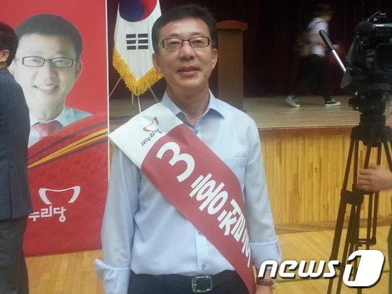 홍철호 7.30 경기 김포 보궐선거 새누리당 후보.© News1