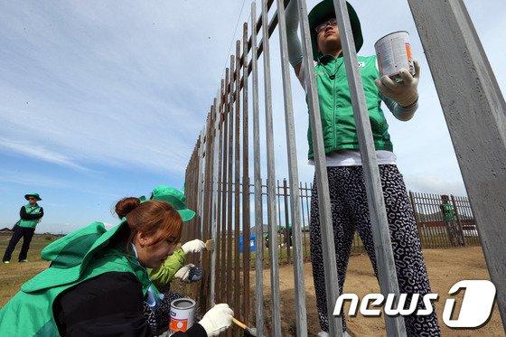 [사진]새마을운동 해외봉사단 몽골 활동
