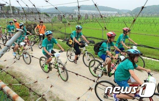 통일기원 DMZ 자전거 평화대행진