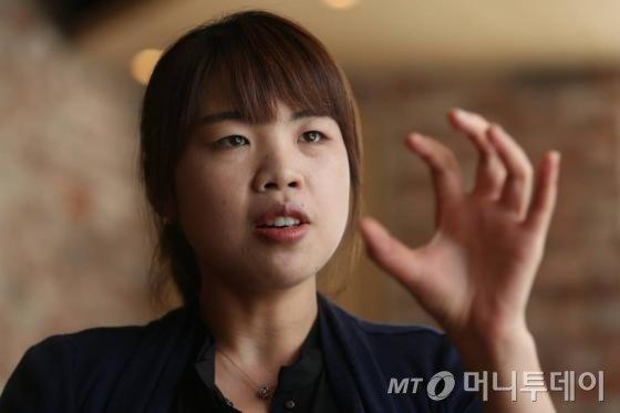 서울 강남경찰서 강력2팀 김은지 경장/ 사진=머니투데이 이기범 기자