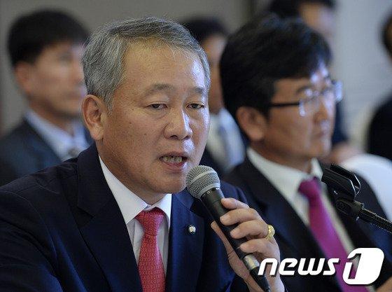안양옥 한국교총 회장 /뉴스1 © News1