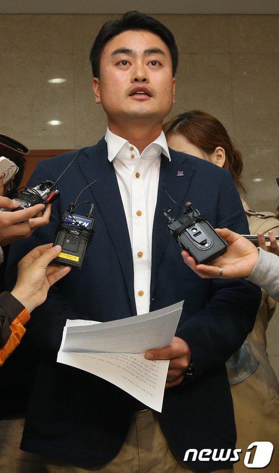 홍성규 통합진보당 대변인. 2013.11.5/뉴스1 © News1