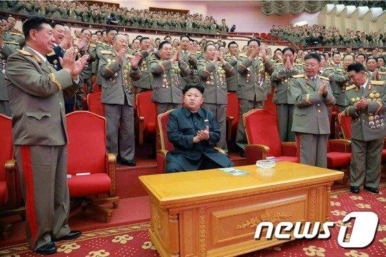 김정은 북한 노동당 제1비서 (노동신문) 2014.7.28/뉴스1 © News1 유승관