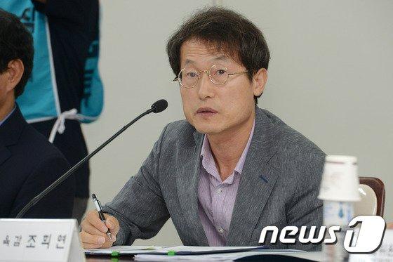 [사진]인사말하는 조희연 서울교육감