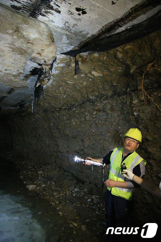 [사진]석촌지하도 아래 생긴 빈 동굴