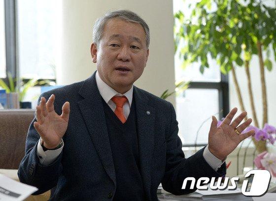 안양옥 한국교원단체총연합회장. /뉴스1 © News1