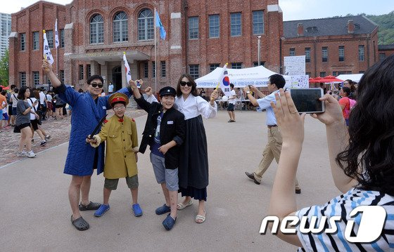 [사진]'대한민국 만세!'