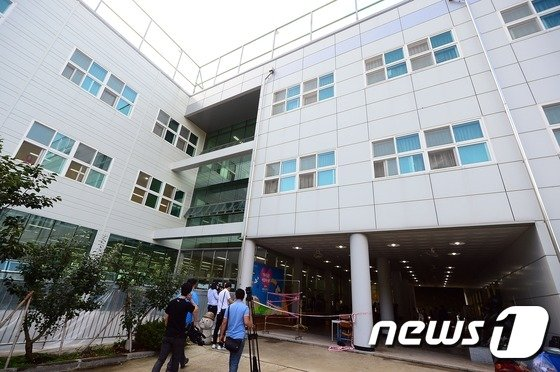 [사진]사고가 발생한 갈릴리수양관 건물