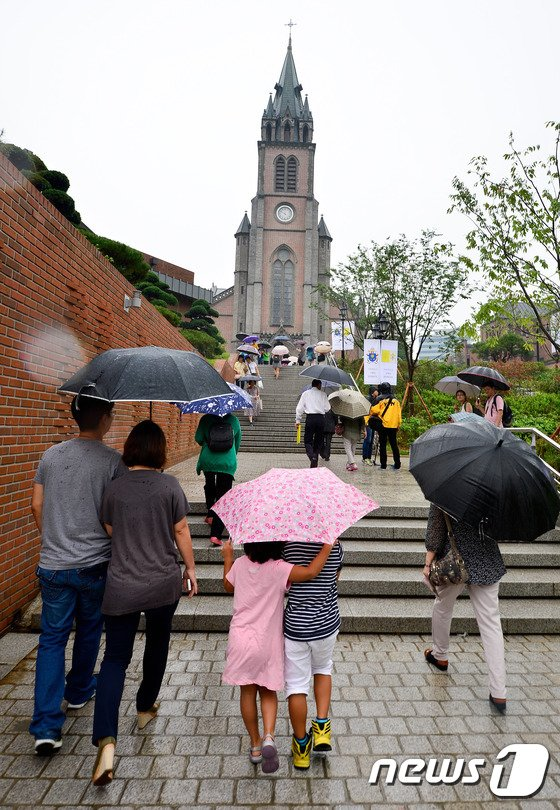 [사진]성당 가는 길