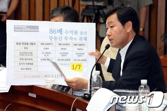 [사진]김관영 '권순일 후보자 부동산 투자의 귀재?'