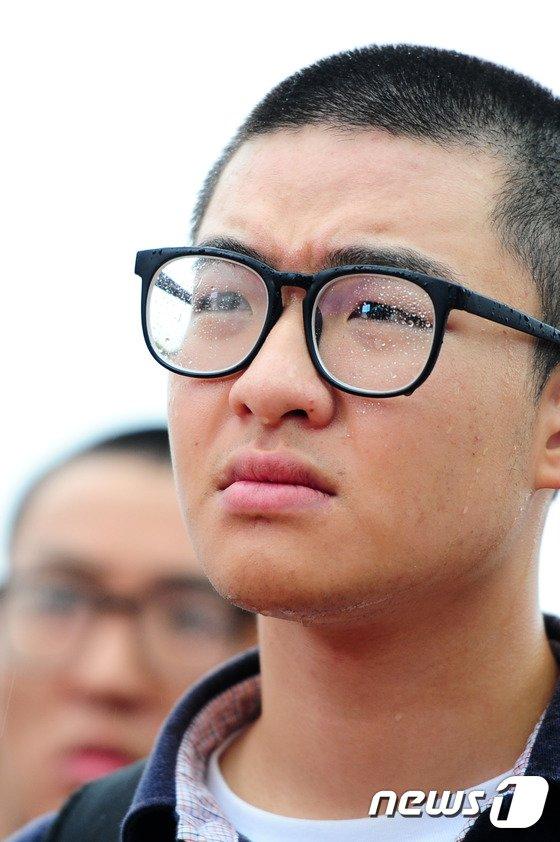 [사진]해병대 신병의 눈물