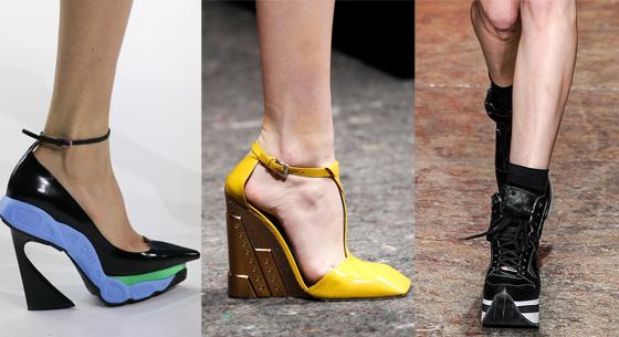 /사진=2014 F/W 레디투웨어 컬렉션 디올, 프라다, DKNY(왼쪽부터)