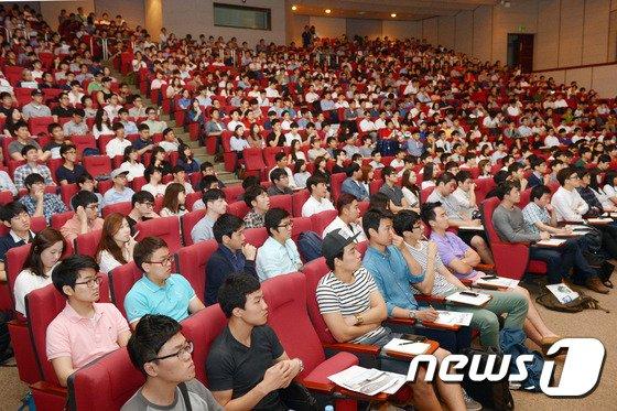 [사진]건설인재들의 취업고민