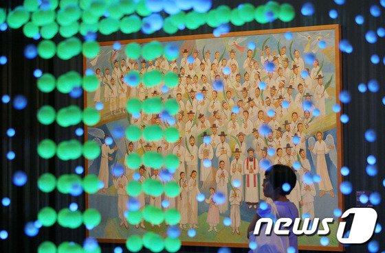 [사진]124위 순교 복자 초상화 원화 공개