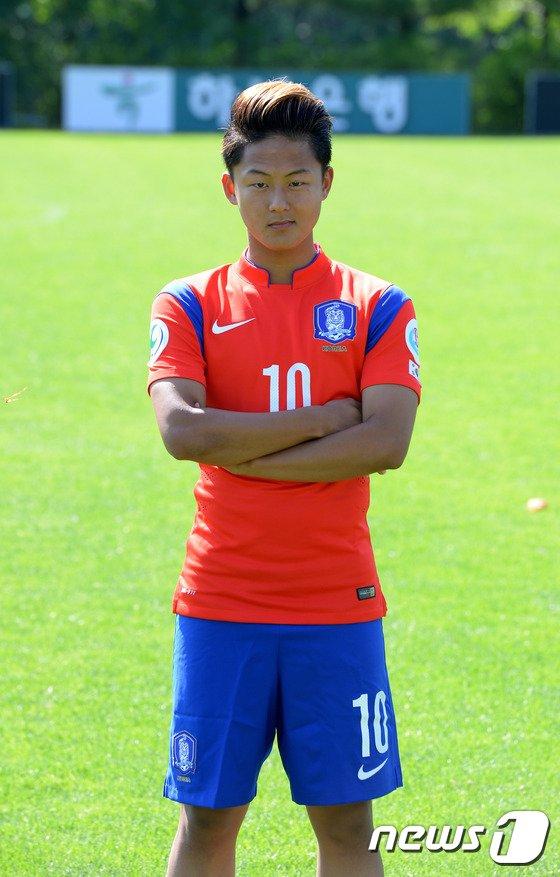 [사진]대한민국 U-16 축구대표팀 이승우