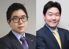 (왼쪽부터)홍세종 책임연구원, 성준원 수석연구원/사진제공=신한금융투자
