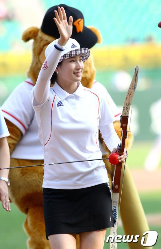 한국 여자 양궁의 간판 기보배가 2014 인천 아시안게임에서 해설위원으로 나선다. © News1