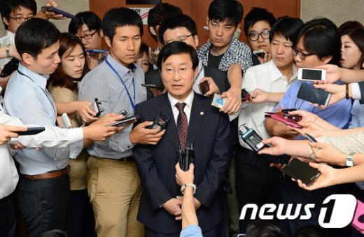 """[사진]박범계 """"모든 의원에게 박 위원장 거취 묻겠다"""""""