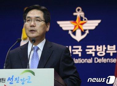 김민석 국방부 대변인. 2014.8.19/뉴스1 © News1 송원영 기자