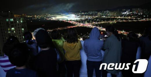 [사진]인천아시안게임 '우리도 함께'