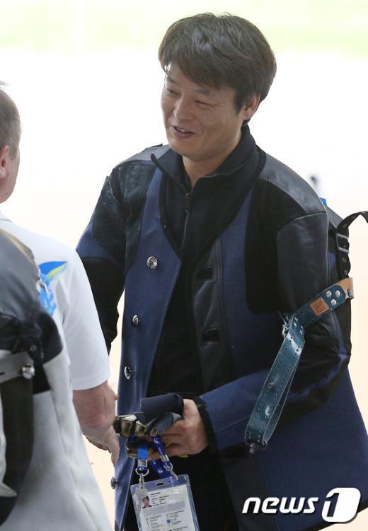 [사진]노장 박봉덕 '동메달 획득'