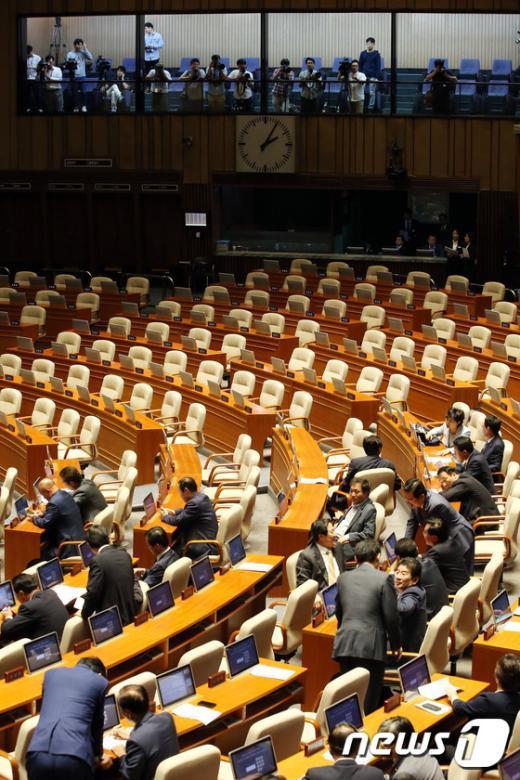 [사진]'야당의 빈자리'