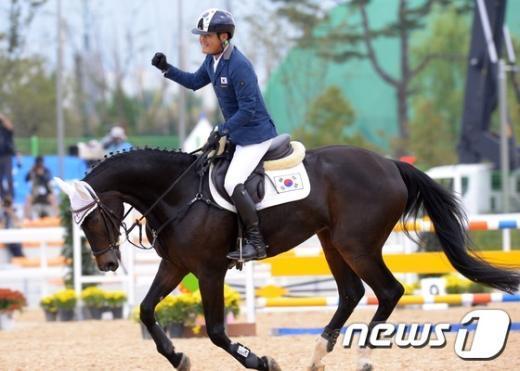[사진]송상욱 '금메달 확신'