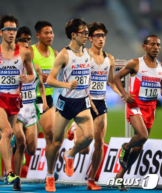 [사진]남자 5000m 결승전
