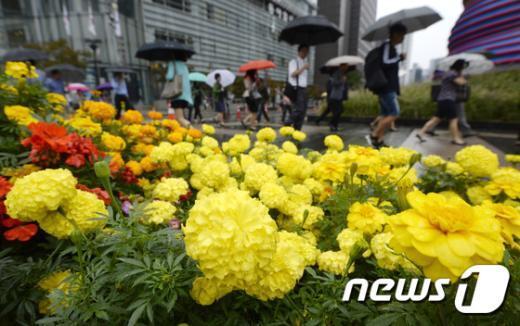 29일은 전국이 대체로 흐리고 비가 내리겠다. (뉴스1 자료사진) © News1 안은나 기자