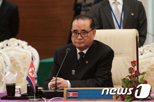 리수용 북한 외무상. © AFP=뉴스1