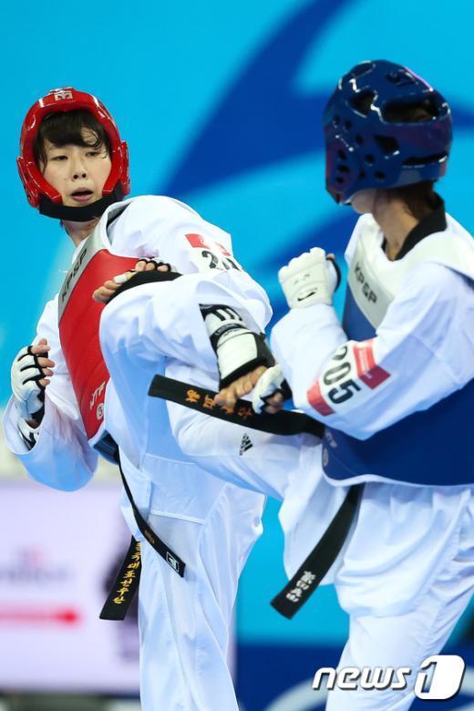 [사진]이아름, 태권도 -57kg급 금메달
