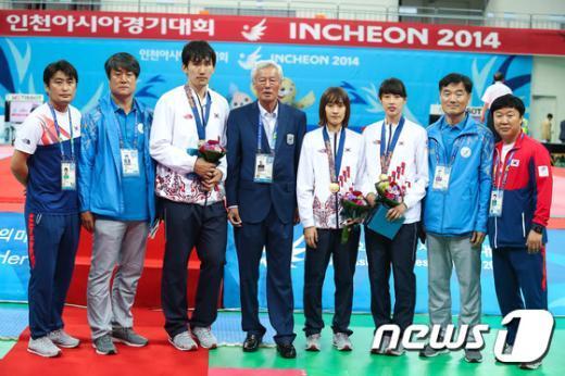 [사진]한국 태권도 '금메달 사냥 시작됐다'