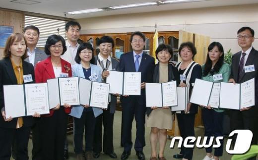 [사진]조희연 서울시교육감, 시민장학사 위촉