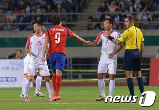 [사진]금메달을 향한 남북 대결
