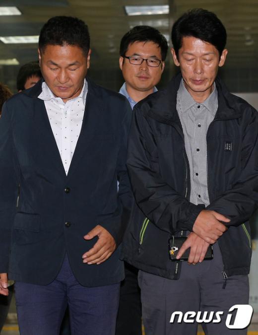 [사진]'폭행 혐의' 세월호 유가족 영장 기각