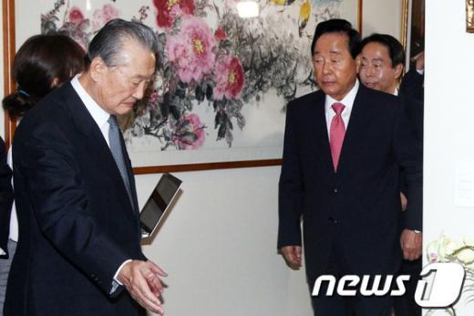 김영삼 전 대통령2012.8.22/뉴스1 © News1