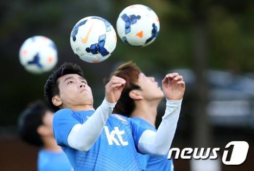 [사진]이동국 '공과 함께라면'