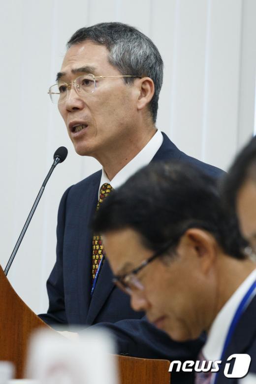 [사진]최저임금위원회 업무보고