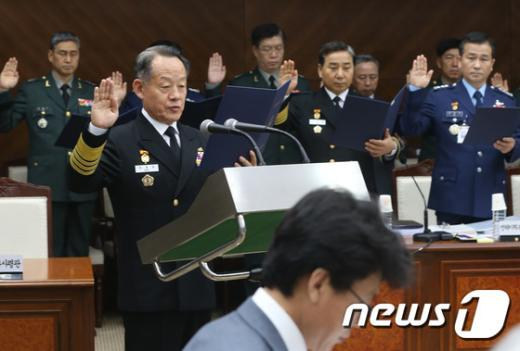 [사진]국방위, 합동참모본부 국정감사