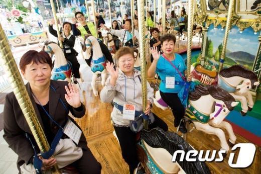 [사진]신나는 한국 놀이공원 '해피 데이'