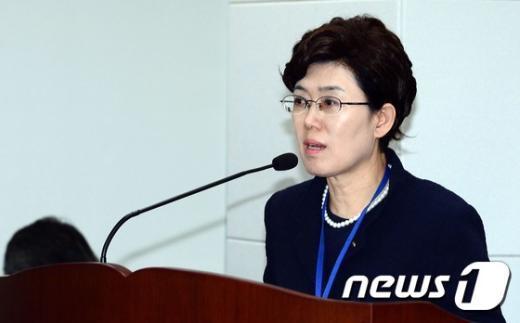 [사진]최연혜 사장, 국정감사 참석
