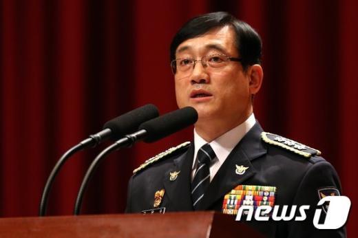 구은수 서울지방경찰청장. 2014.9.1/뉴스1 © News1 한재호 기자