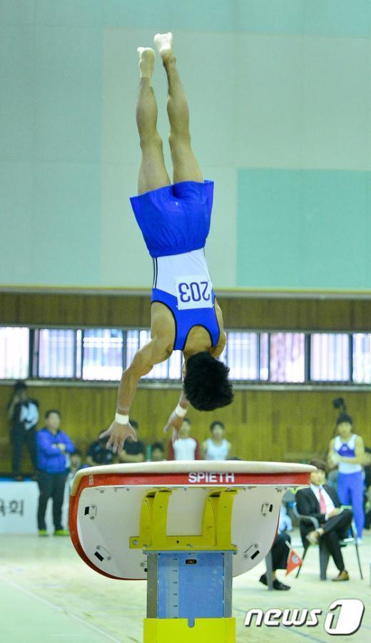 [사진]양학선 점프