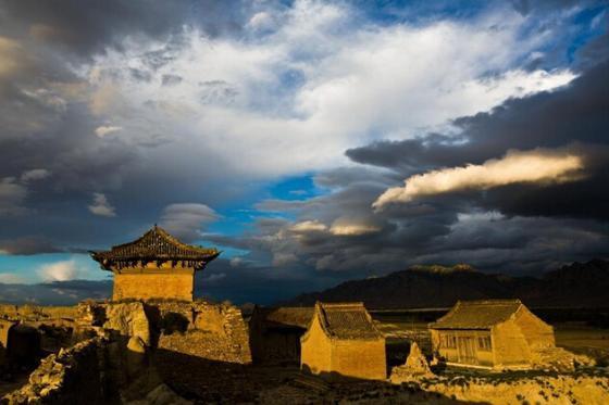 오랜 역사 도시 장자커우(張家口)의 아름다운 풍경
